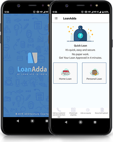 LoanAdda Application
