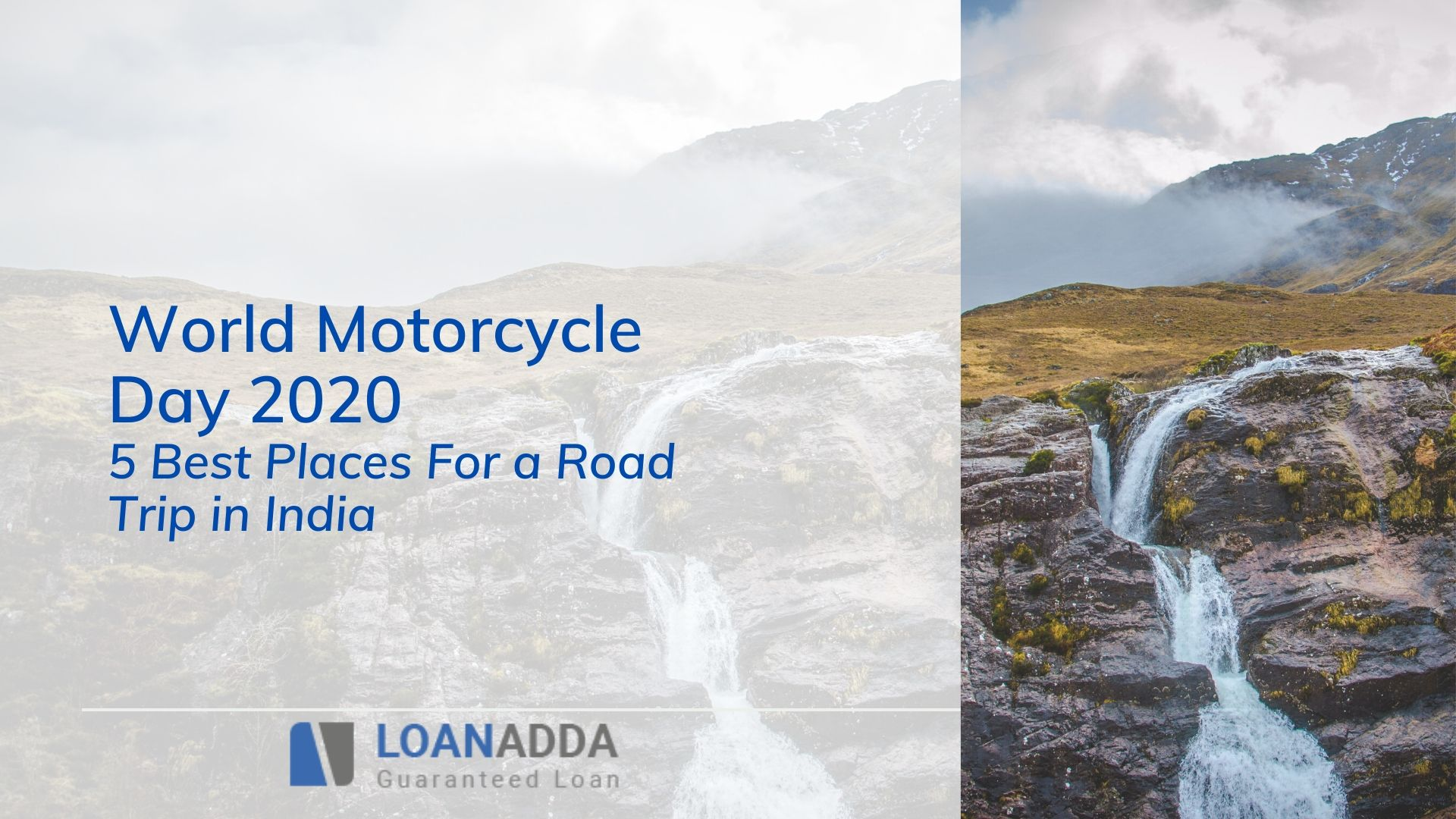 World Motorcycle Day 2020 - Here are 5 Best Places For a Road Trip in India