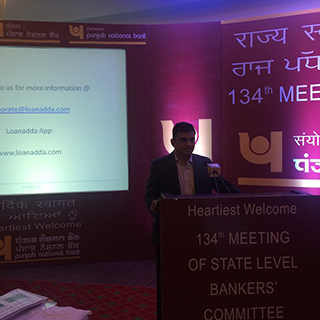 Loanadda at state level bankers committee at chandigarh